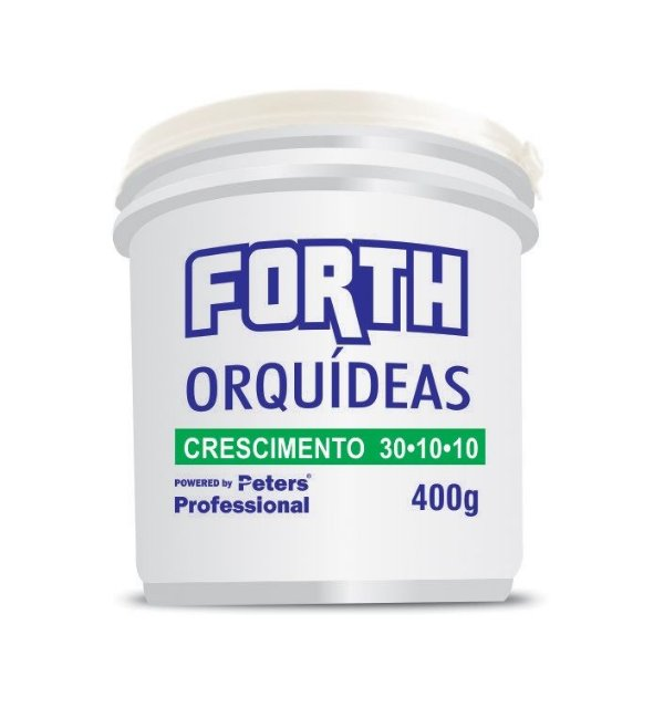 Fertilizante granulado Forth Orquídeas - 30.10.10 - 400 Gr