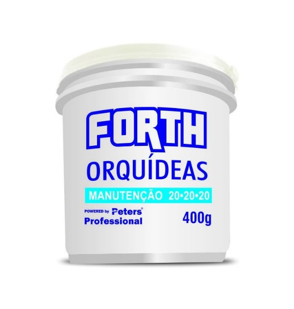 Peters Fertilizante granulado Forth Orquídeas - 20.20.20 - 400 Gr