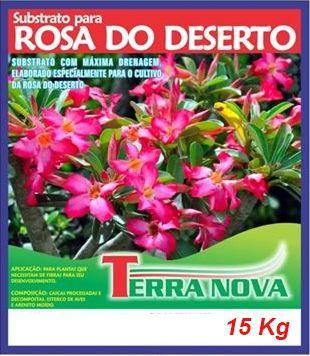 Substrato próprio para Rosas do Deserto - 14Kg (45 Litros)