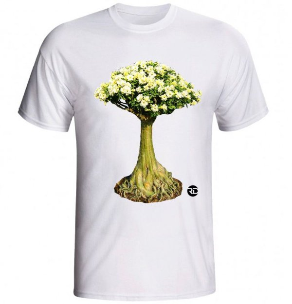Camiseta UNISSEX BRANCA malha PP (Puro Poliéster)
