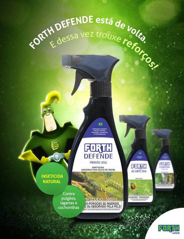 Rosa do Deserto - Forth Defende - Pronto Uso - 500ML