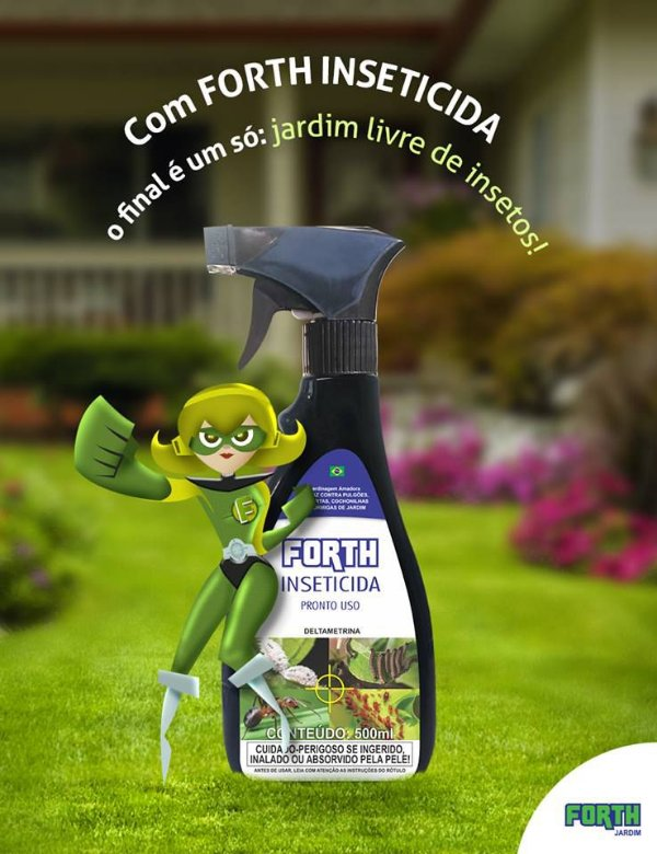 Forth Inseticida - Pronto Uso - 500ML