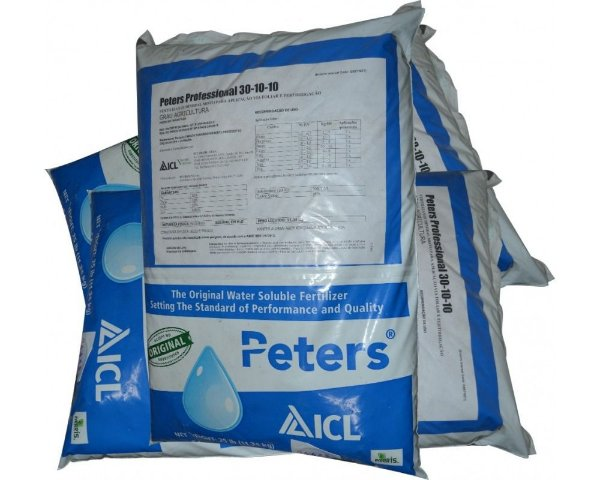 Peters Adubo Fertilizante Crescimento 30-10-10 - 1Kg