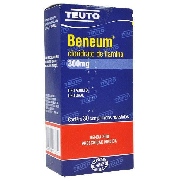 Kit com 5 comprimidos de Beneum - Vitamina B