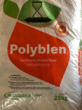 Fertilizante Polyblen Montanha 5 Kg - Liberação lenta - Crescimento