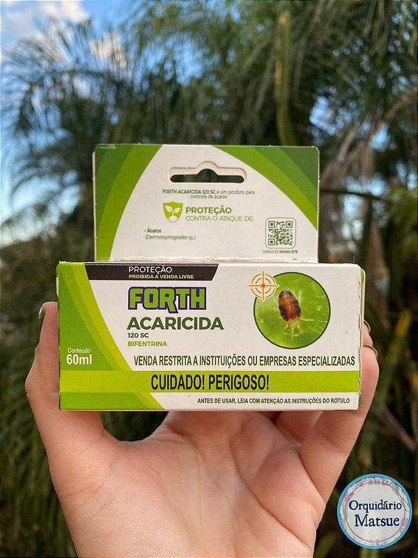 Forth Mata Ácaro ( Acaricida ) 60ml concentrado – Proteção das plantas