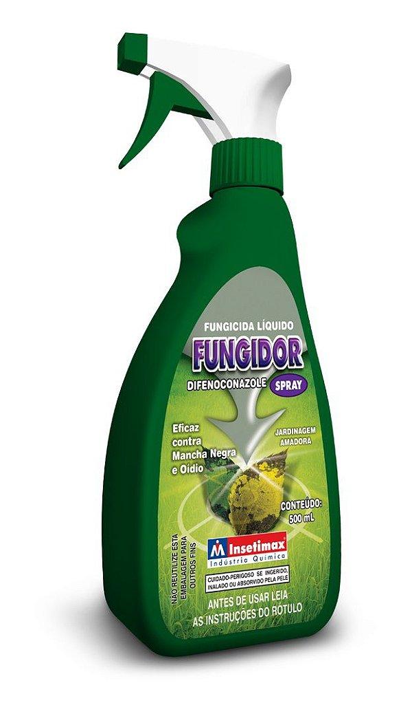 Fungidor Pronto Uso - Eficaz contra Mancha Negra e Oídeo - 500 ml