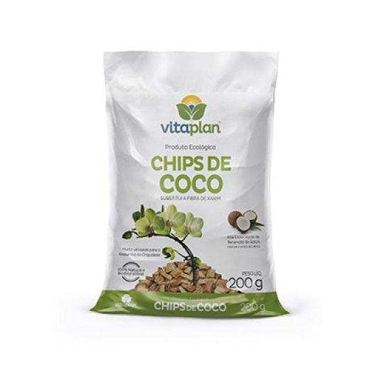 Rosa do Deserto - Chips de Coco - 200Gr