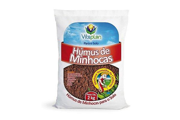 Humus de Minhoca - 2 Kg