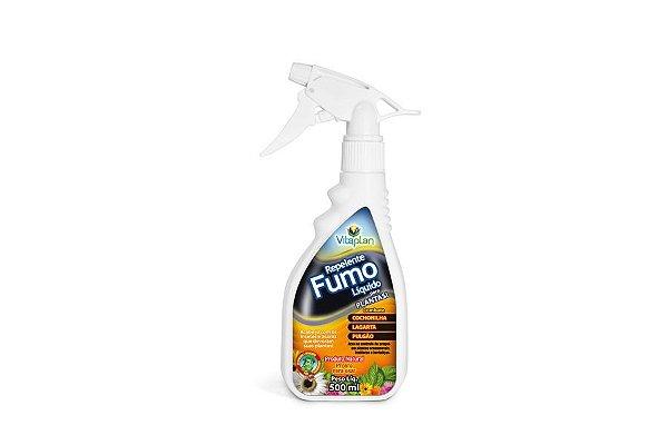 Repelente Natural Fumo líquido 500 ml. Combate cochonilha, lagarta e pulgão.