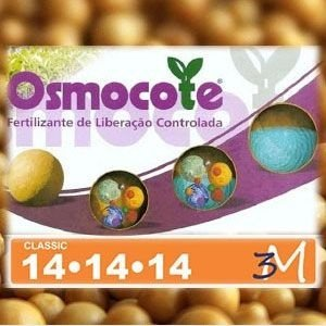 Osmocote Classic 14-14-14 (3-4 meses) - 500 Gr
