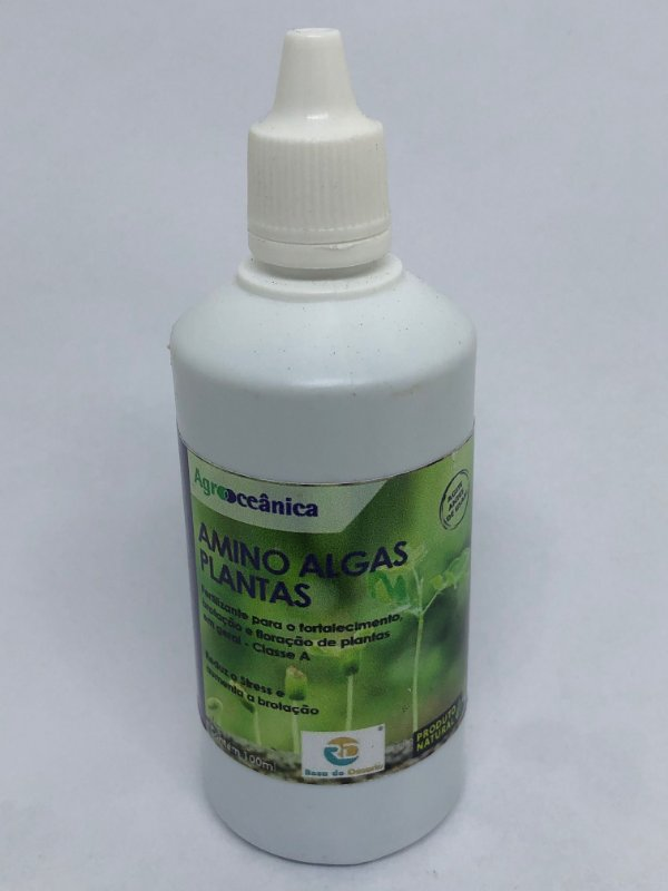 Amino Peixe Algas Plantas - 100ml