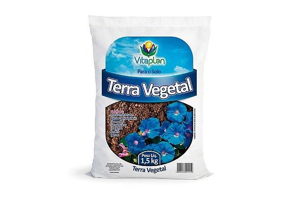 Terra vegetal para germinação e transplante de mudas - 1,5 Kg