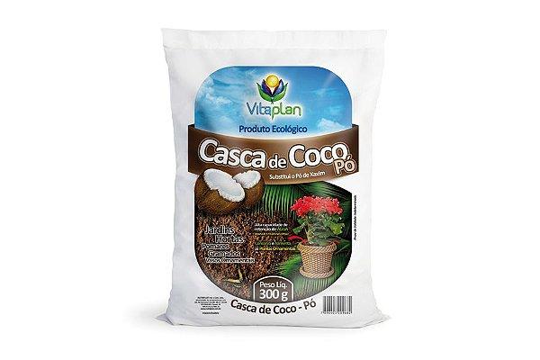 Casca de Coco em Pó - 300Gr