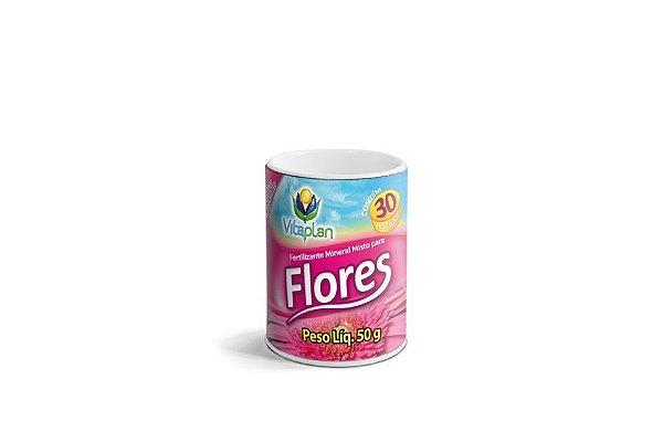 Rosa do Deserto - Fertilizante Pastilha para Flores - 50 Gr