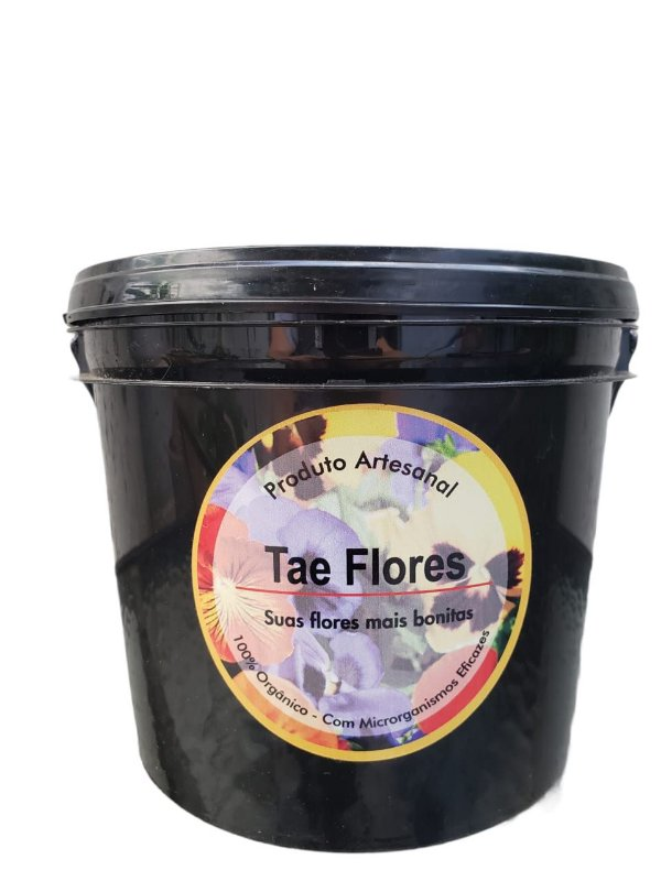 Adubo Orgânico TAE FLORES - 1kg