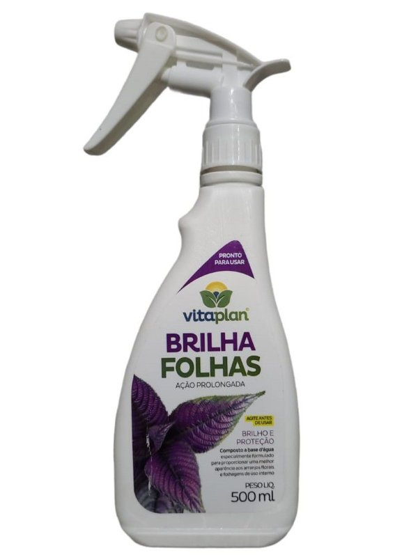 Rosa do Deserto - Brilha Folhas  Pronto Uso - 500ml