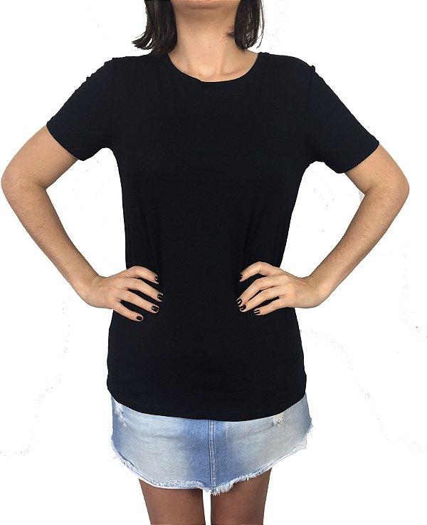 blusa básica | t-shirt preta | coleteria
