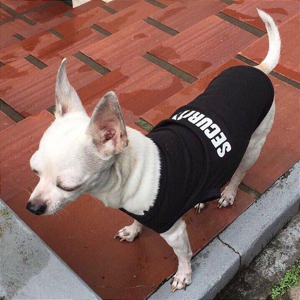 """colete para cachorro de malha """"security"""" Coleteria"""