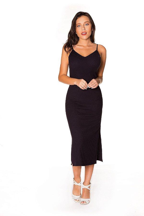 4660d1d61 Vestido alcinha Ribana preto | Vestido básico| Coleteria - Coleteria
