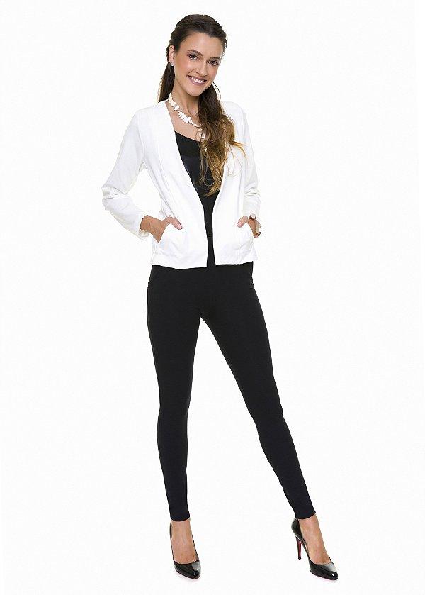 Blazer Off White|casaco|Coleteria