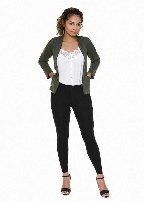 Calça Legging Skinny Preta |calça|Coleteria