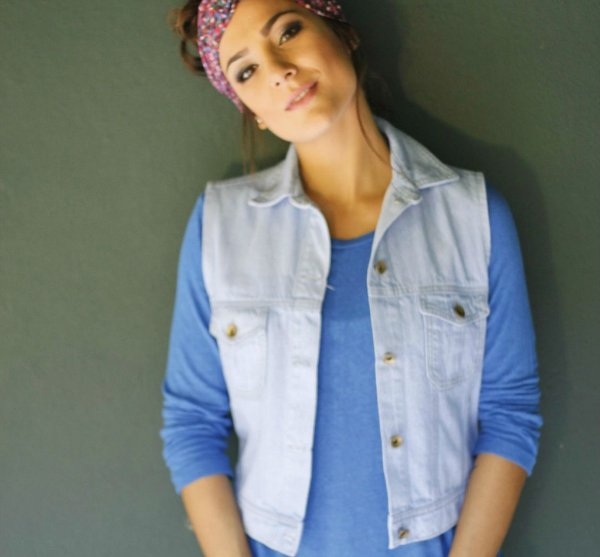 colete jeans | paraty | coletânea mundo