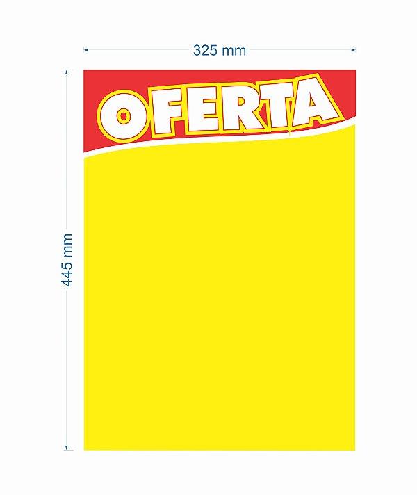 Cartaz de Oferta 445X325MM tamanho GRANDE (C/100 unidades)