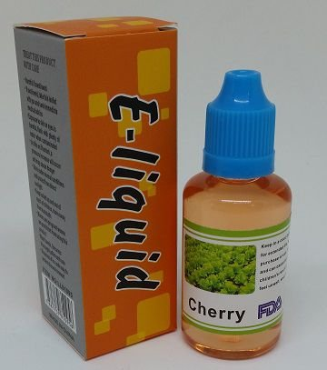 E-LIQUID E-HEALTH  CIGARRO ELETRONICO COM NICOTINA 18MG SABOR CHERRY (CEREJA) 30ML