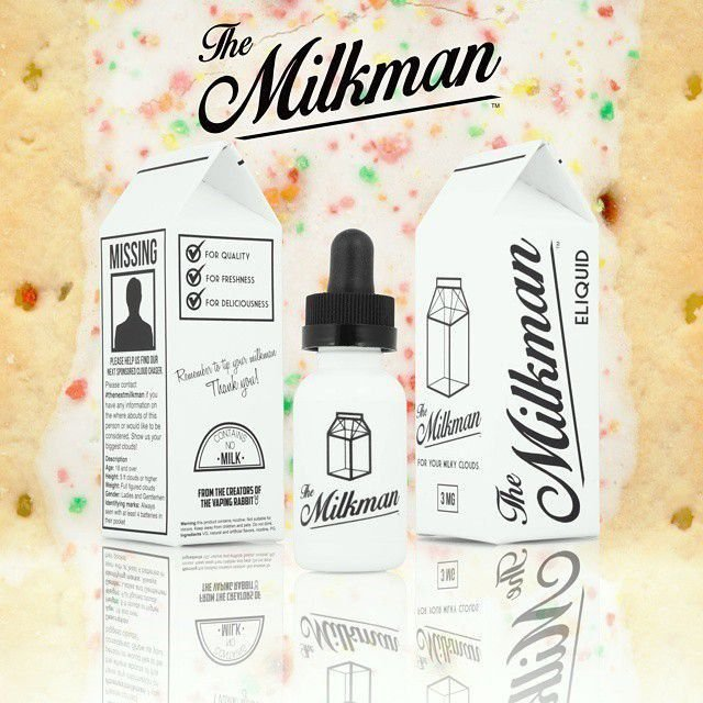 E-LIQUID MILK VANILLA  MAX VG, 30ml - The Milkman