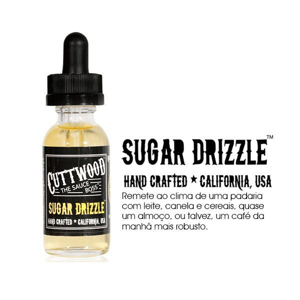 LIQUIDO CUTTWOOD SUGAR DRIZZLE 30ML