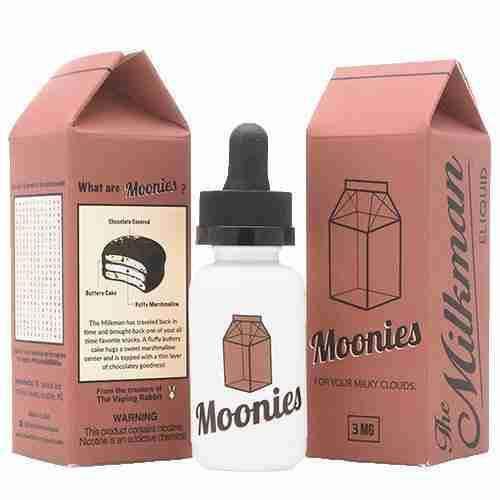 E-LIQUID MOONIES MAX VG, 30ml - The Milkman