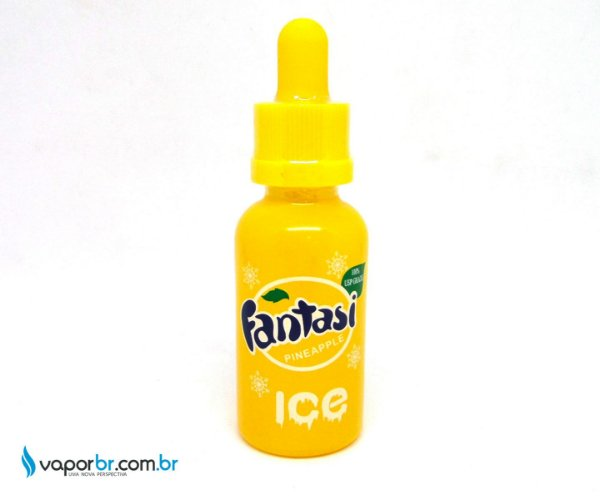 LIQUIDO FANTASI PINEAPPLE ICE 30ML  - 70 VG - 3MG NICOTINA