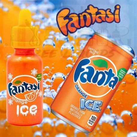LIQUIDO FANTASI ORANGE ICE 30ML  - 70 VG - 3MG NICOTINA