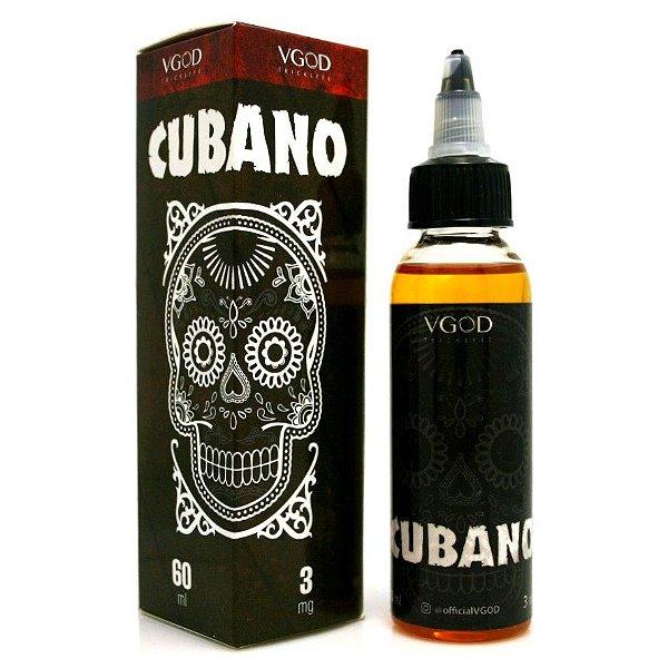 LIQUIDO VGOD - CUBANO (CHARUTO CUBANO COM BAUNILHA CREMOSA) 60ML