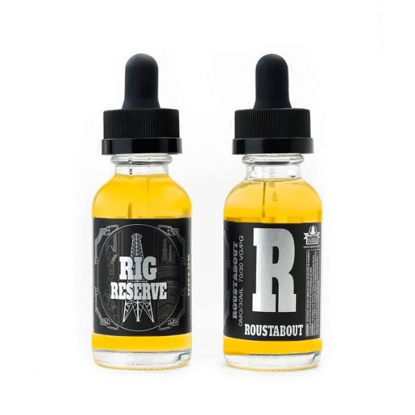 LIQUIDO RIG RESERVE - ROUSTABOUT  70VG - 30ML