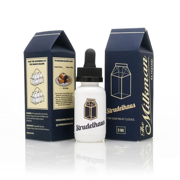 Liquido Strudelhaus - The MilkMan eLiquid 30 ml 0mg