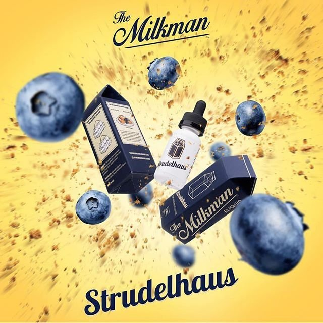 Liquido Strudelhaus - The MilkMan eLiquid 30 ml - 0mg nicotina