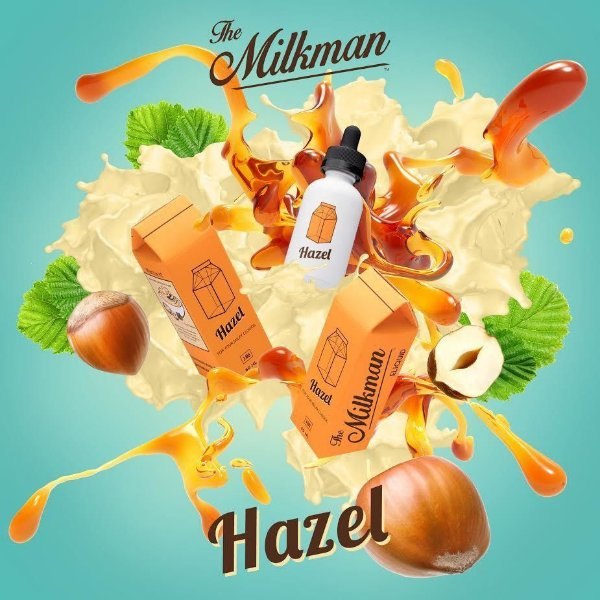 E-LIQUID DELIGHTS HAZEL MAX VG  60ML - THE MILKMAN