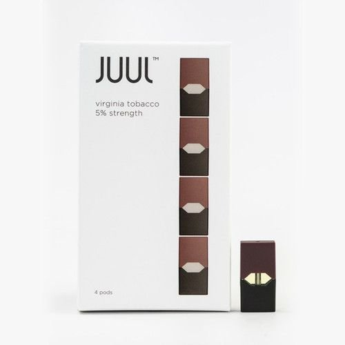 REFIL JULL (PACK OF 4) VIRGINIA TOBACCO