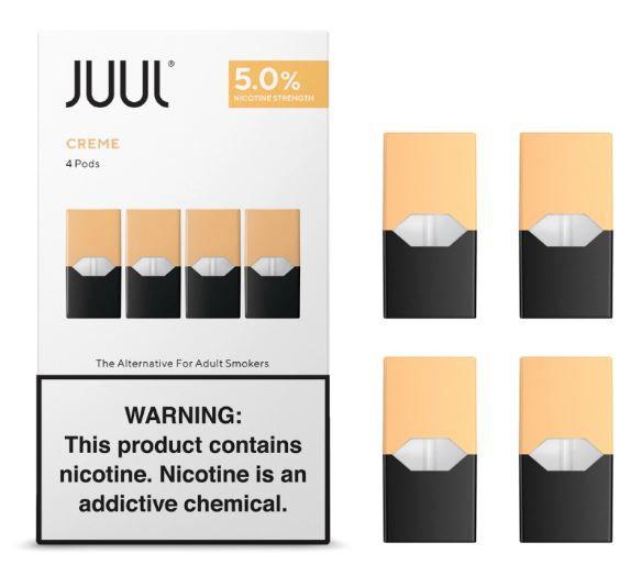 REFIL JUUL (PACK OF 4) CREME BRULEE