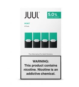 REFIL JUUL (PACK OF 4) MINT