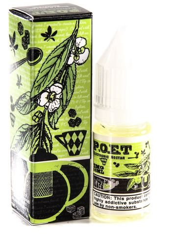 LIQUIDO P.O.E.T - BLACK TEA 10ML