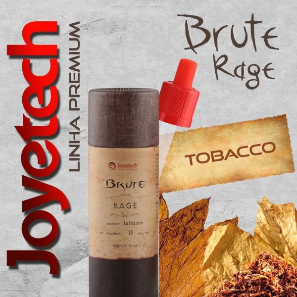 Líquido Joyetech® Premium Tobacco - Brute Rage - 30 ML - 11mg nicotina