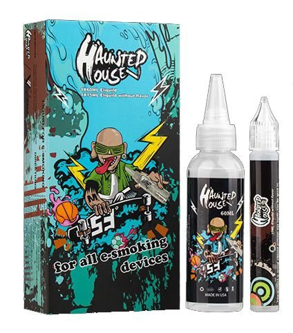 LIQUIDO - HAUNSTED HOUSE (AZUL) 75ml - 3MG NICOTINA