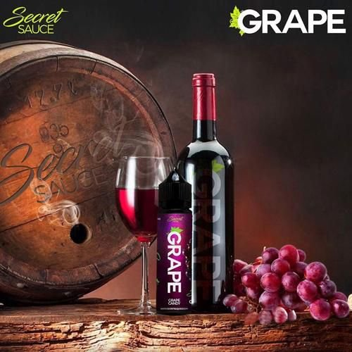 LIQUIDO SECRET SAUCE PREMIUM GRAPE (UVA) 60ML - 3MG NICOTINA