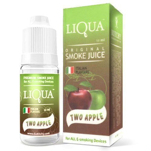 LIQUIDO LIQUA TWO APPLE 10ML / 0MG NICOTINA