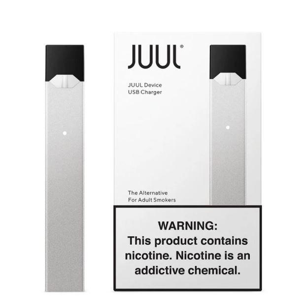 JUUL DEVICE SILVER - promoção