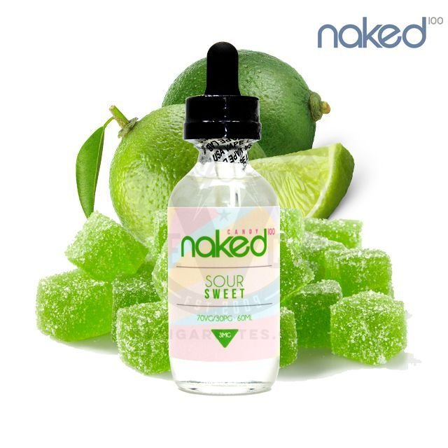 LIQUIDO  Naked 100 Candy - Sour Sweet  - 60ML - 6MG NICOTINA