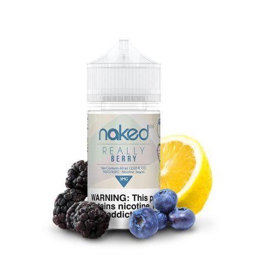 LIQUIDO NAKED 100 -  REALLY BERRY  - 60 ml - 3mg NICOTINA